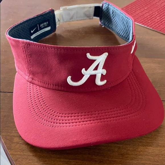Alabama Nike visor